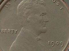 1909 Cent on Mars