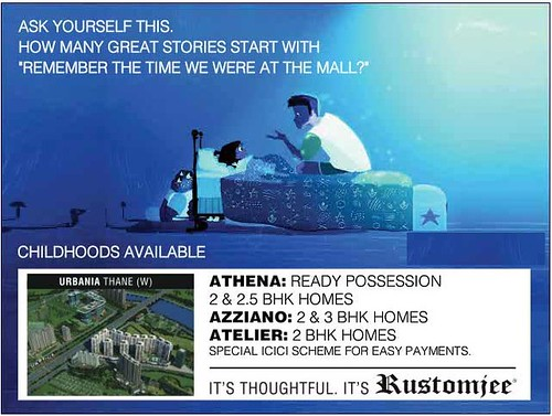 ATHENA Ready Possession 2 and 2.5 BHK Homes, AZZIANO 2 and 3 BHK Homes, ATELIER 2 BHK Homes at URBANIA Thane (West) by Rustomjee by jungle_concrete