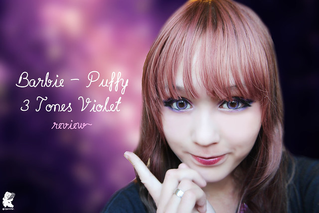review-Barbie - Puffy 3 tones Violet3