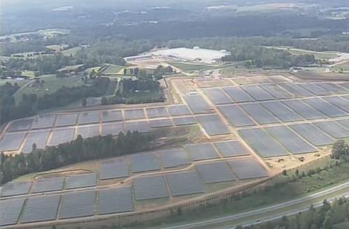 Солнечная ферма Apple готовится к запуску (фото)