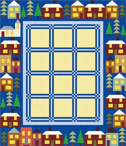 Christmas Houses I