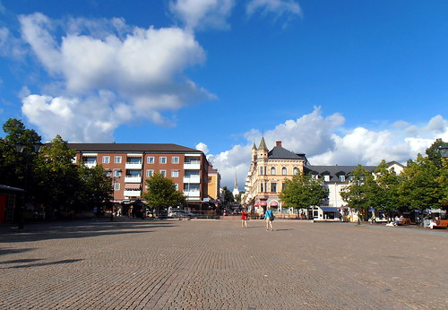 Arvika. Plaza