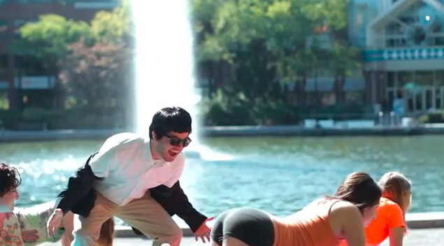 Screen Grab PSY - GANGNAM STYLE (강남스타일) Parody - Inbound Style - YouTube
