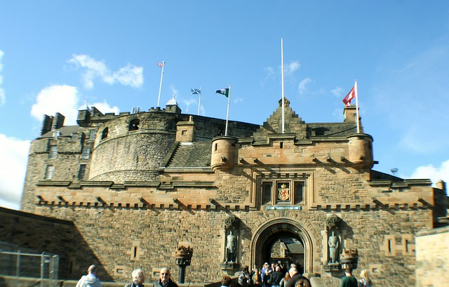 Entrance to Edinburgh Castle, Scotland