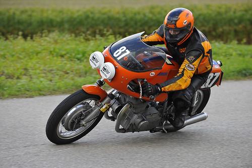 Laverda classic motorcycle Oldtimer Grand Prix 2012 Schwanenstadt Austria Copyright B. Egger :: eu-moto images 0390
