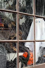 Happy Halloween Weekends window