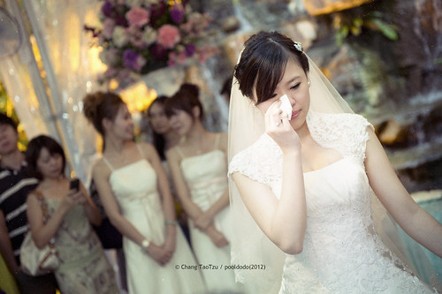 [wedding] crying