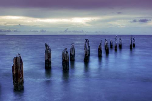 "ocean old abandoned water sunrise landscape pier florida keywest dilapidated deterioration ""flickraward"" ""flickraward5"""