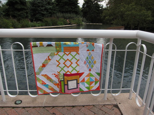 100 Quilts for Kids at the Water Park