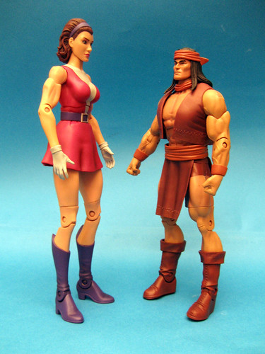Elastigirl and Apache Chief