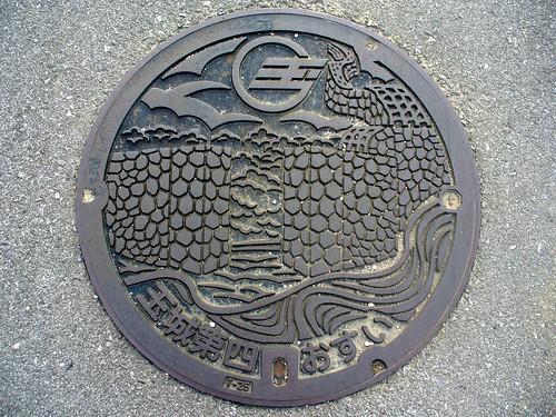 Tamagusuku Okinawa manhole cover (沖縄県玉城村のマンホール)