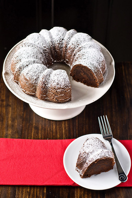 Boozy Chocolate Bundt Cake