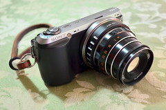 Sony NEX-C3 with Industar-61 L/D 2.8/55