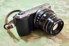 Sony NEX-C3 with Industar-61 L/D 2.8/55