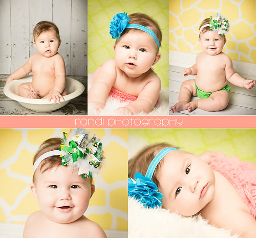 Kansas City Baby Photographer -  Harper's 6 Month Session by randilyn829
