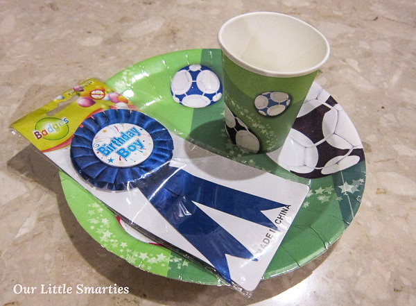 Paper Cut, Plate & Birthday Pin