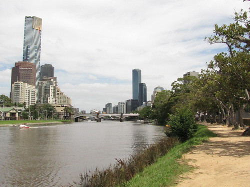 Eureka Tower, Southbank & The Yarra River by holidaypointau