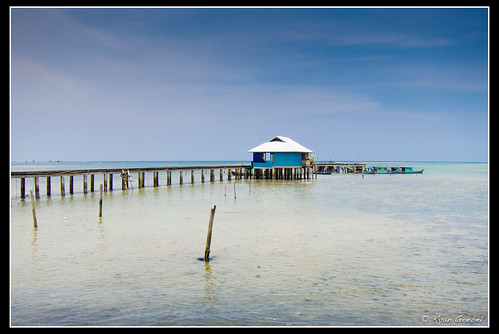 ocean travel sea beach water canon indonesia island photography islands pier dock powershot pointandshoot stilts riau natuna s95 ranai