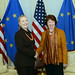 Secretary Clinton Meets With EU High Representative Ashton