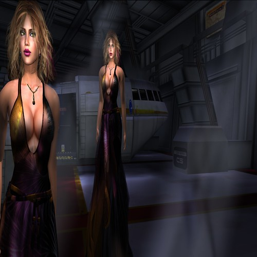 Paris METRO Couture_ So Shall It Be-Deep Space by Dyana Serenity
