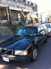 The golden calf mobile