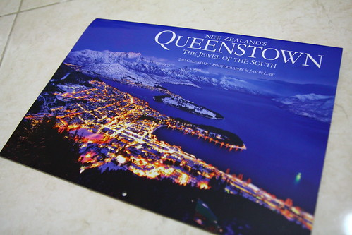 New Zealand's Queenstown 2012 Calendar by Jason Law