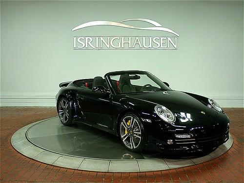 2011 Porsche 911 Turbo S Cabriolet Black Black 4 950