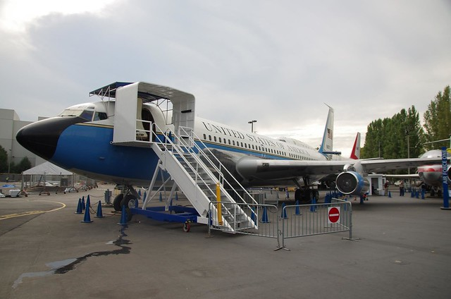 Airforce One VC-137B - modified Boeing 707 - Museum of Flight, Seattle