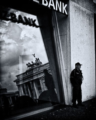 bank; a reflection