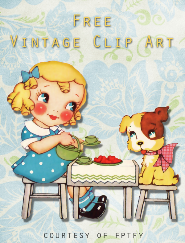 Free vintage clip art by fptfy