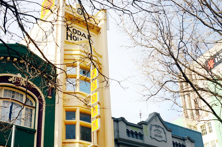 kodak building hobart