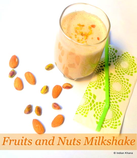 Fruits Nuts Milkshake