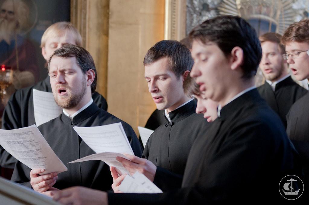 Мужской хор академии