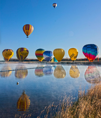 Balloons Reflections