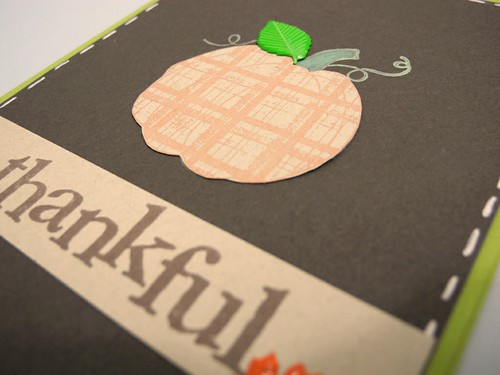 Thankful pumpkin (detail)
