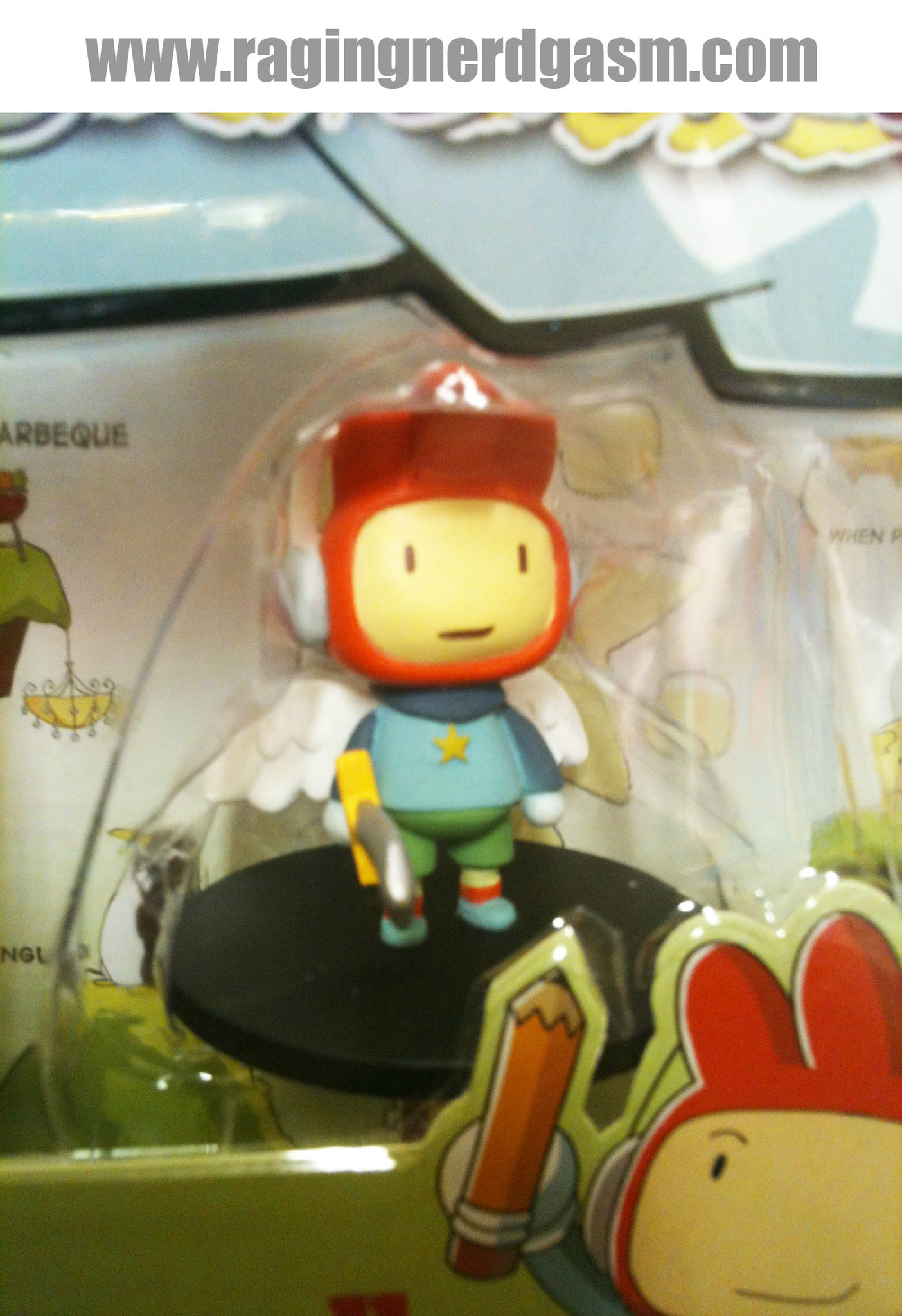 ScribbleNauts by Jazwares Maxwell Collectible Figure 005