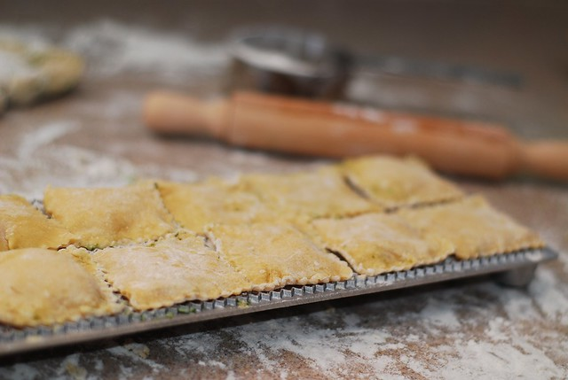 how to make spinach ravioli 1