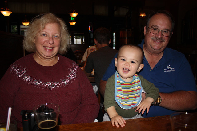 Monterey Brewery with Merry and Peter