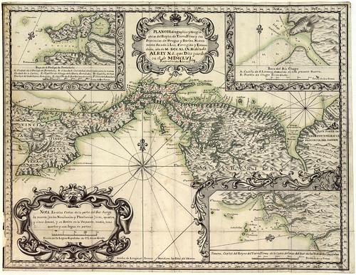 005-Plano Hidrográphico y Geográphico del Reyno de Tierra Firme y sus Provincias de Veragua y Darien (1778)