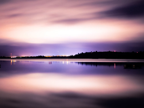 longexposure lake water minnesota night 35mm canon purple canon35mm 35mml 35l canon60d