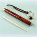 Small photo of Bone Embroidery Laying Tool with Cocobolo Case