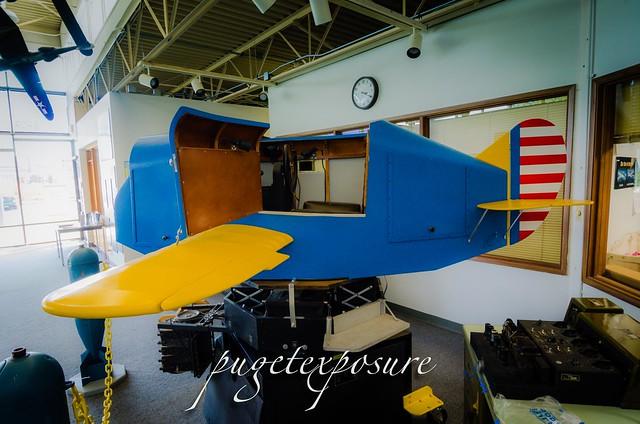 Flight Trainer at Museum of Flight