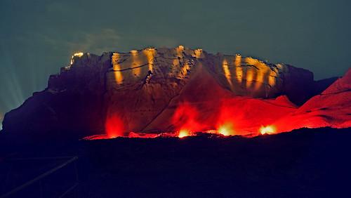 Masada sound and light Show    1.10.2012