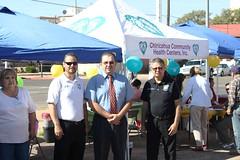 """Inauguración de la Feria Binacional de salud 2012 """"Salud Primero es Amor"""""""