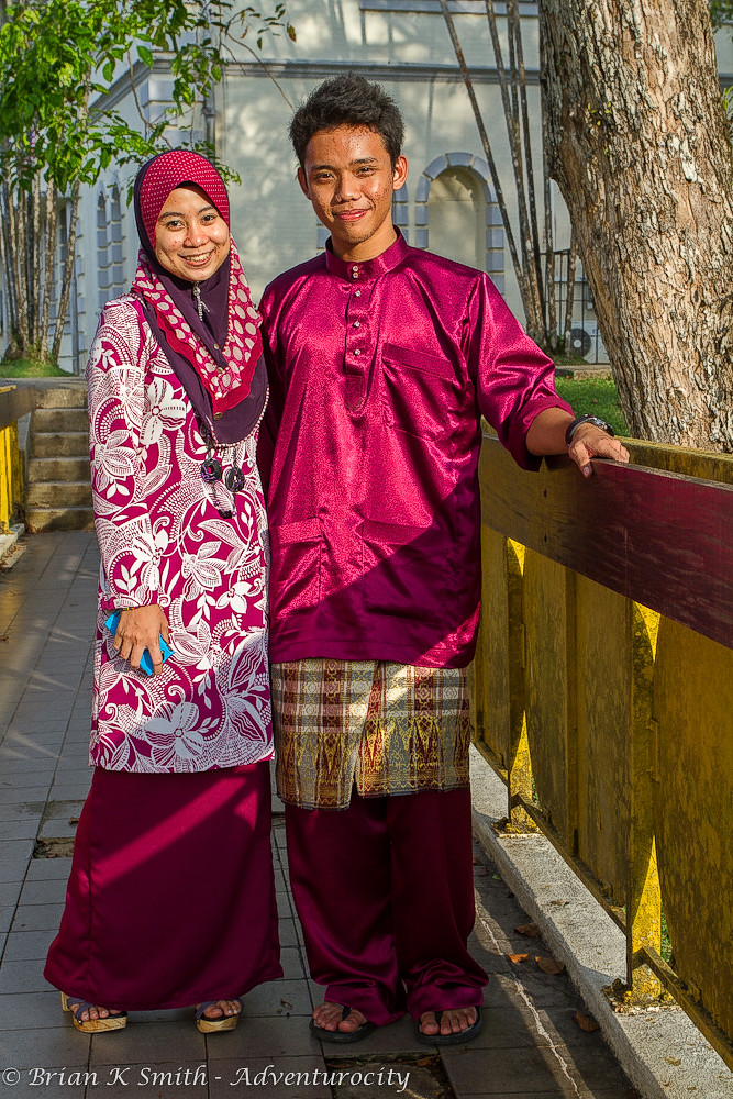 Newly-Engaged Malay Couple, Kuching