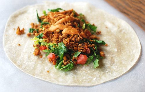 Weeknight Chickpea Burritos
