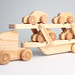Hand-Made Wooden Toy Car Transporter [Fully loaded]