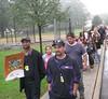 Safe Kids Middlesex County Walk To School Day in Dunellen