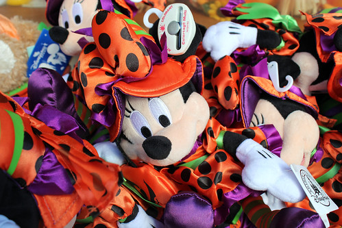 Halloween Minnie plushies