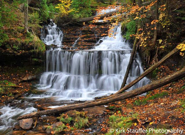 michigan upper peninsula waterfalls - photo #17